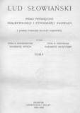 Lud Słowiański: pismo poświęcone dialektologji ietnografji Słowian T.1 -T.4