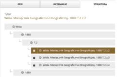 Wisła. Miesięcznik Geograficzno-Etnograficzny, 1888-1922